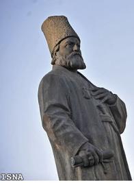 مجسمه امیر کبیر در پارک ملت، ساخته ابوالحسن خان صديقي