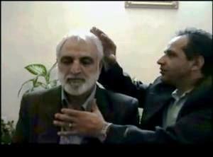 محسنی اژه ای در حال گرفتن انرژی از علی اکبری!