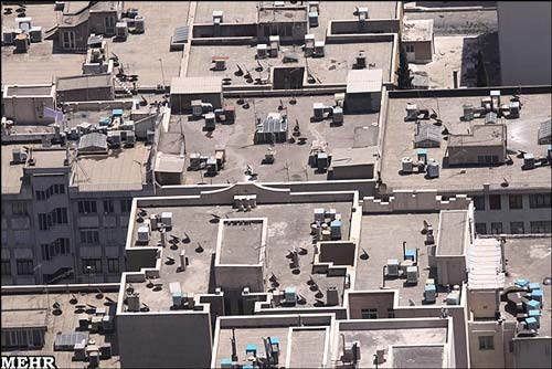 تصویر هوایی از محله سردار!