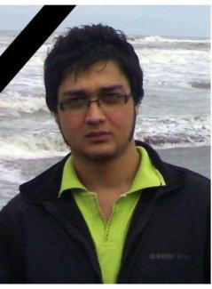 علی خدابخش، دانشجوی دانشگاه صنعتی شریف، که در سانحه هواپیما کشته شد