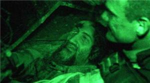 تصویر بن لادن قبل از آسمانی شدن در دریا!