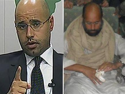 انگشت سیف الاسلام قذافی را انقلابیون لیبی بریده اند نه حمله ناتو!